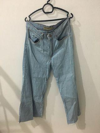 Palazo Jeans