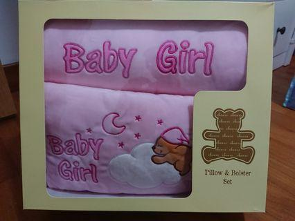 Baby pillow and bolster set brand new