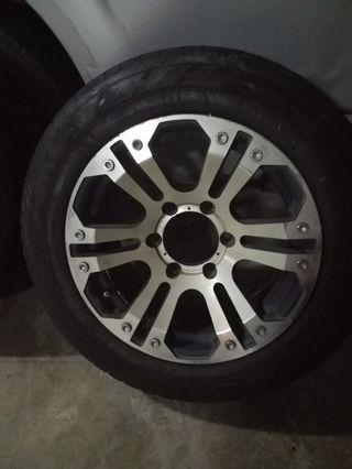 Hiace 16inch rims with tyres