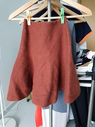 Wool blend skirt #EndgameYourExcess