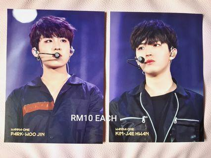WANNA ONE PHOTOCARD