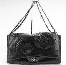 Chanel Camellia Petals Lambskin Flap