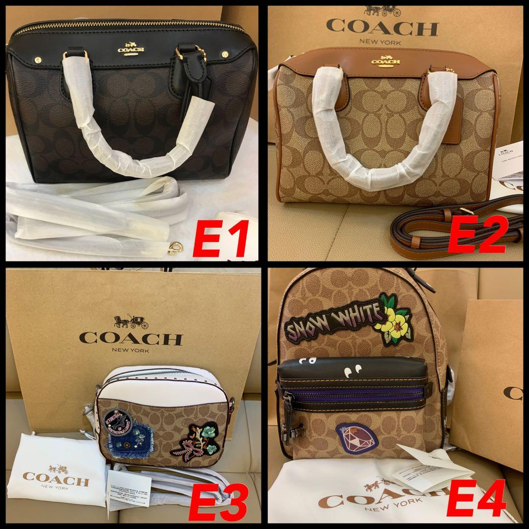 (26/04/19)Authentic Coach women bag Bennett crossbody sling bag Tory Burch backpack camera bag