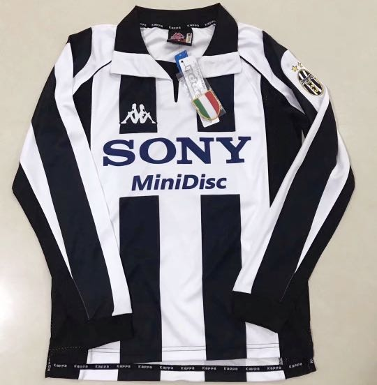 buy popular 287aa d5473 97/98 Juventus long sleeve retro kits