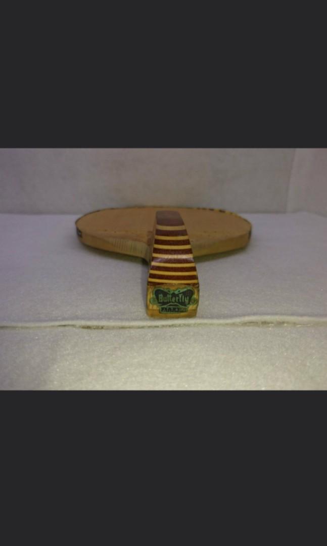 舊蝴蝶鐵牌 桌球/乒乓球拍 閃光5500