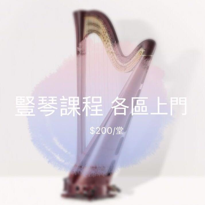 (元朗/佐敦)豎琴課程 Harp lesson
