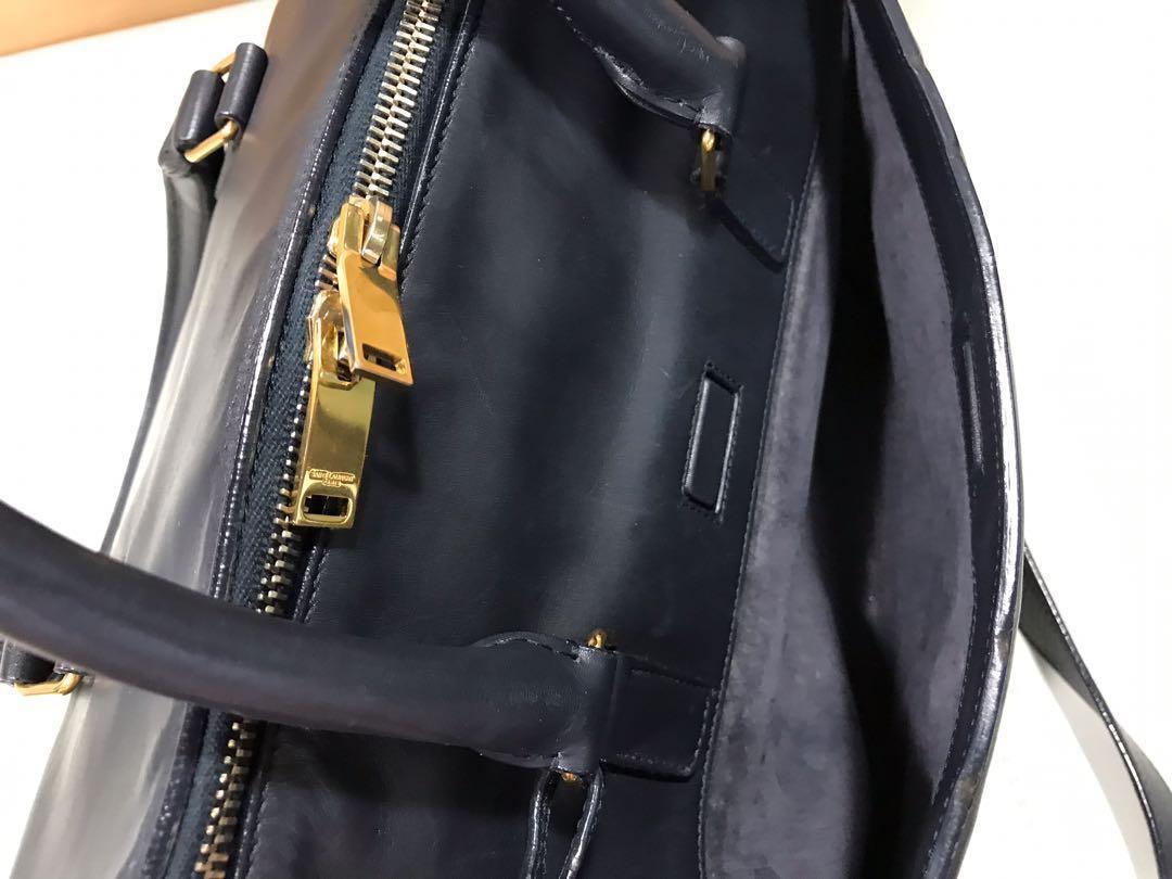 真品 Saint Laurent paris handbag 女裝手袋 斜揹袋 手挽袋 兩用包包 真皮 皮革 ysl slp 似lv speedy