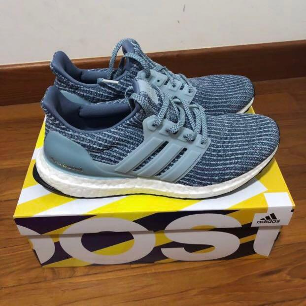 Adidas Ultra Boost 4.0 Ash Grey, Men's
