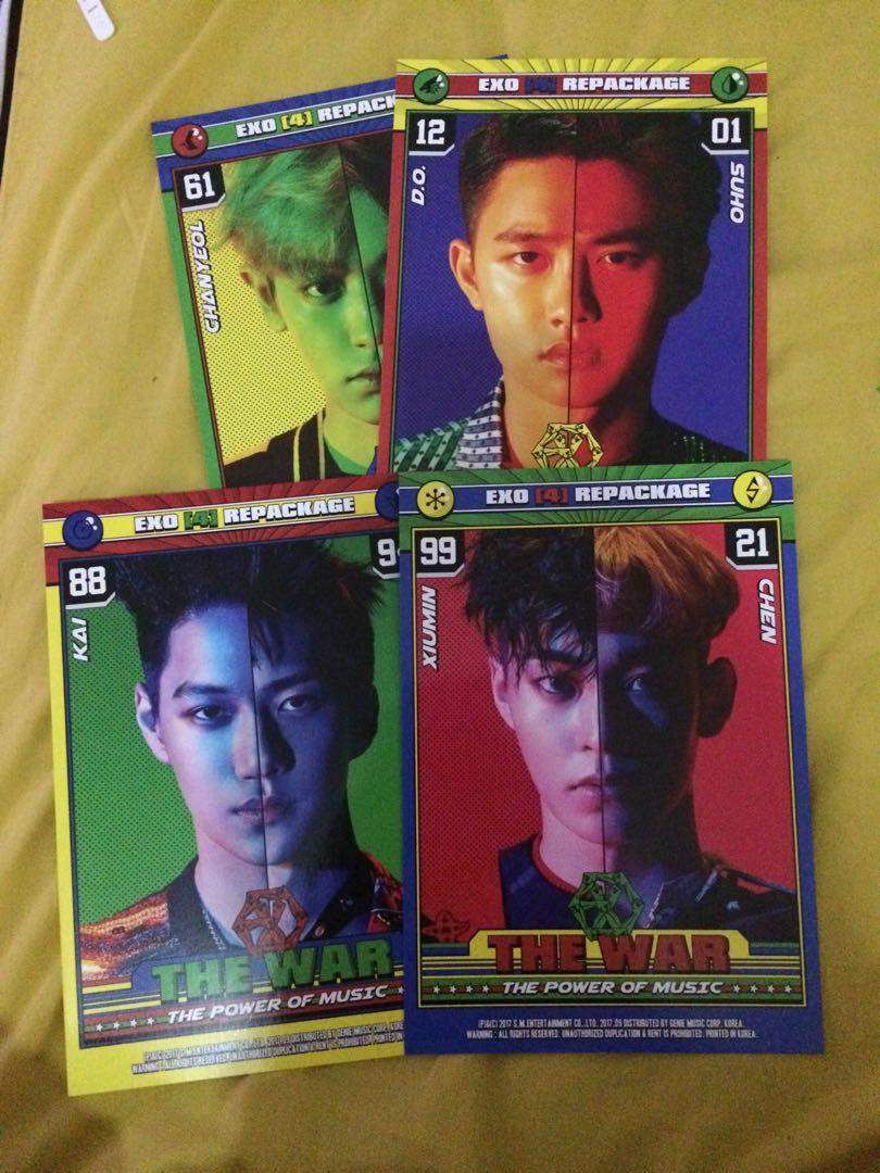 ALBUM EXO THE WAR : THE POWER OF MUSIC