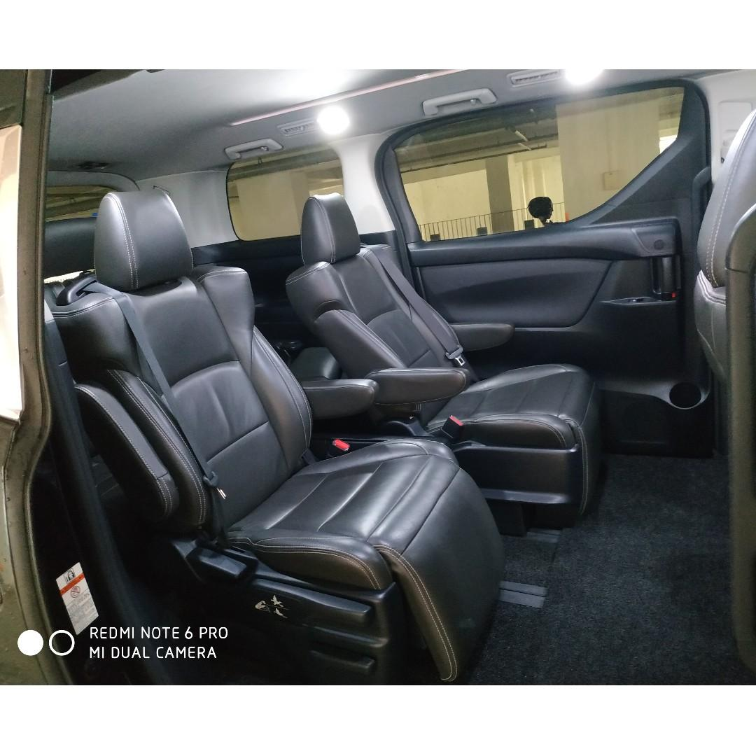 Attn Private Hirer & Limousine Drivers!2015 Toyota Velifire For Lease
