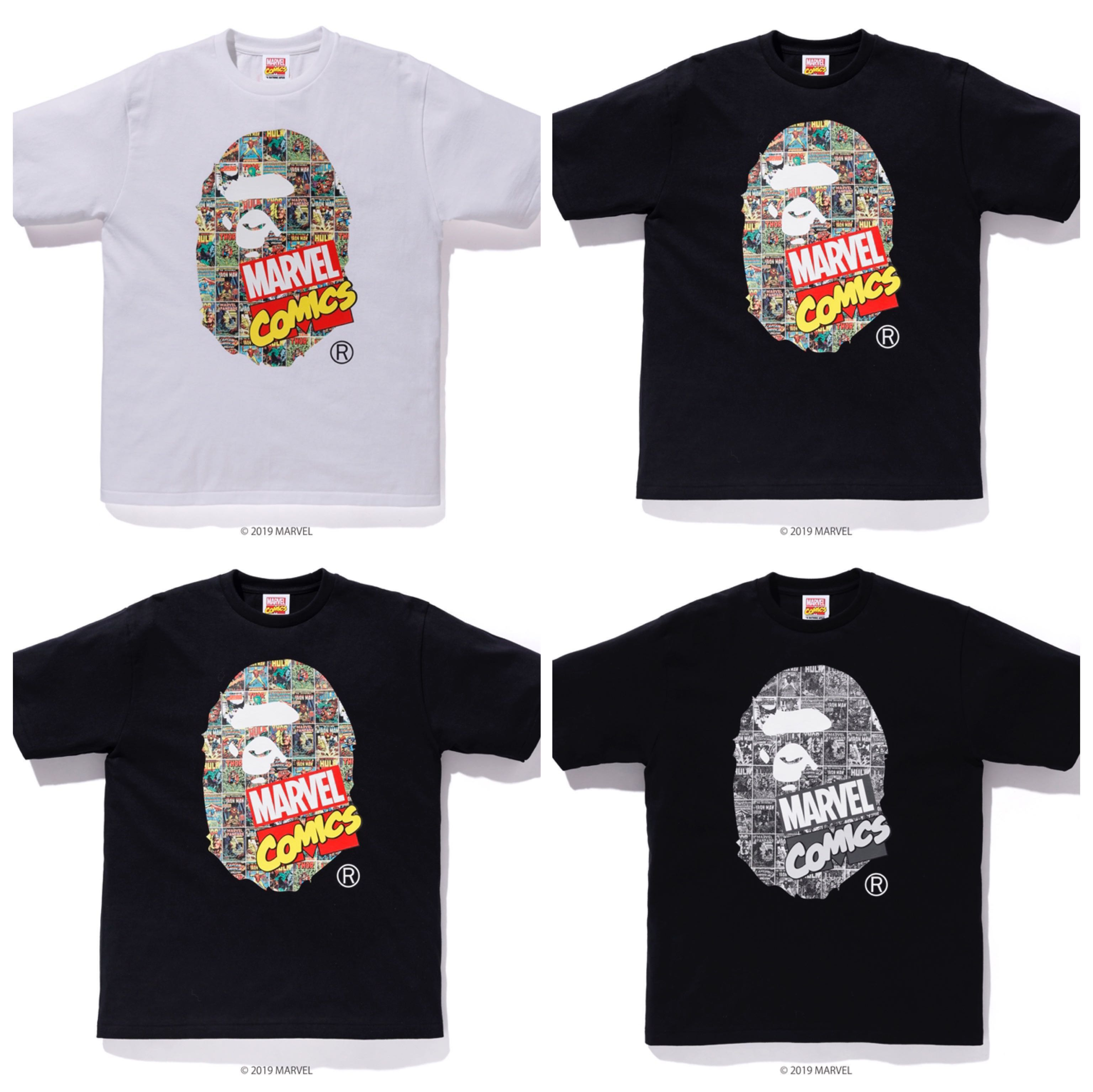 b9a2b151 BAPE MARVEL APE HEAD TEE, Men's Fashion, Clothes, Tops on Carousell
