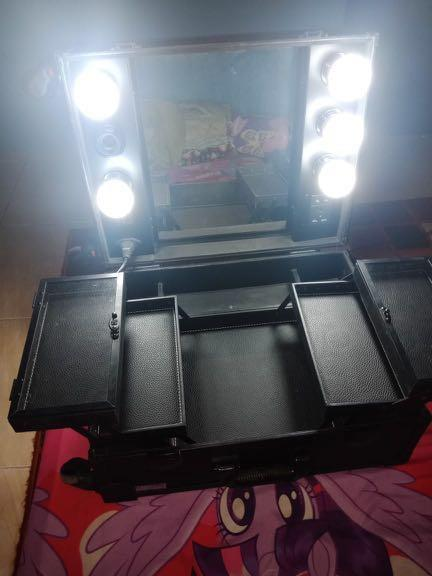 Beauty case koper makeup mirip masami shuoko