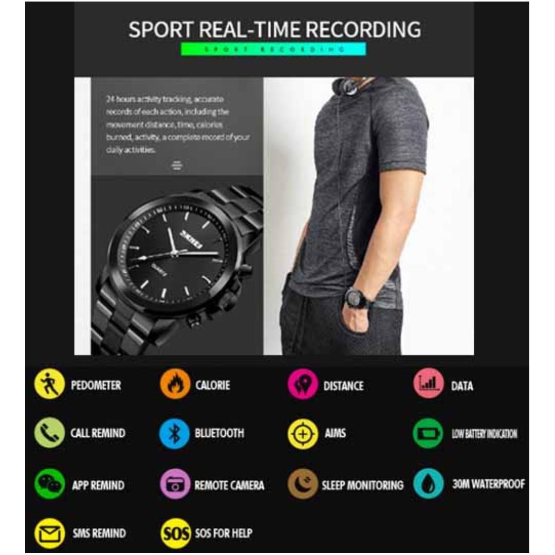 Bluetooth Luxury Watch (Any 2 pcs)