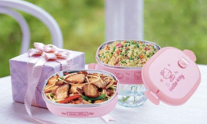 Brand new hello kitty thermo stainless steel lunch container