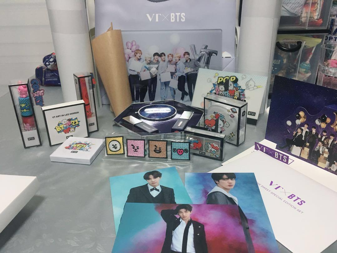 BTS/BT21/VT COSMETICS official products