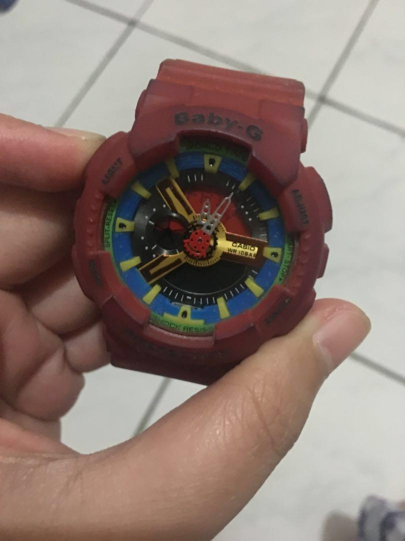 Casio babyG watch