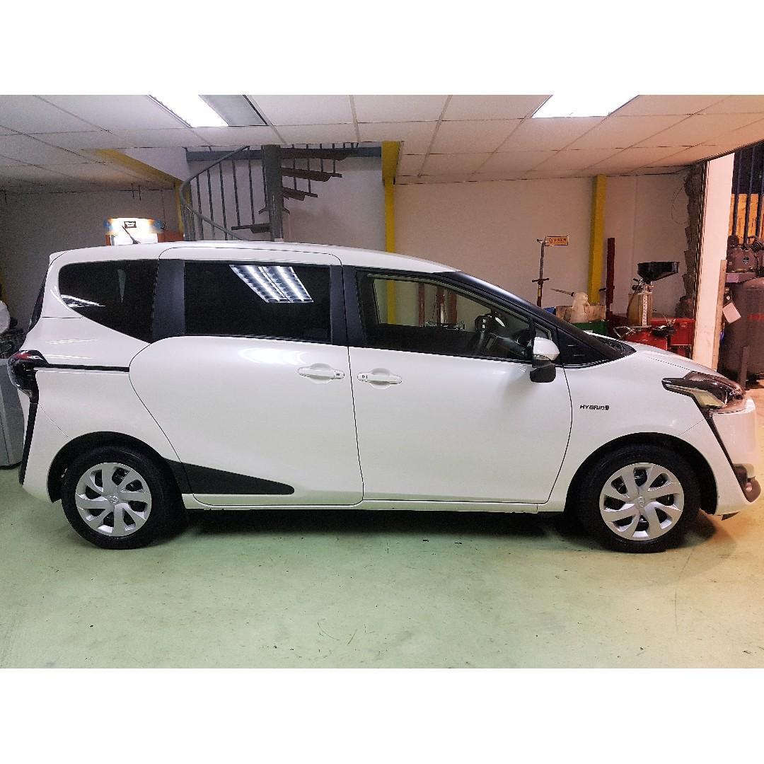 Cheap Lease Toyota Sienta Hybrid