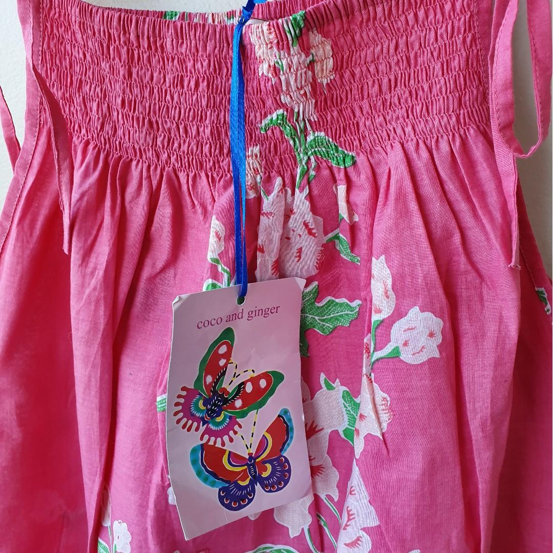 COCO & GINGER Girls Pretty Pink Dress Sz 10 BNWT