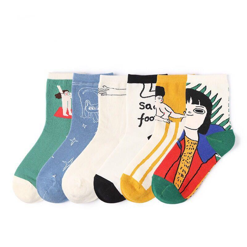 Cute art Socks $10 for 3 (Free delivery for order above $20)