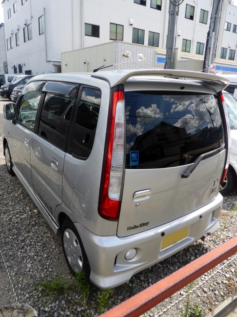 Daihatsu move l900s hello kitty spoiler for perodua kenari