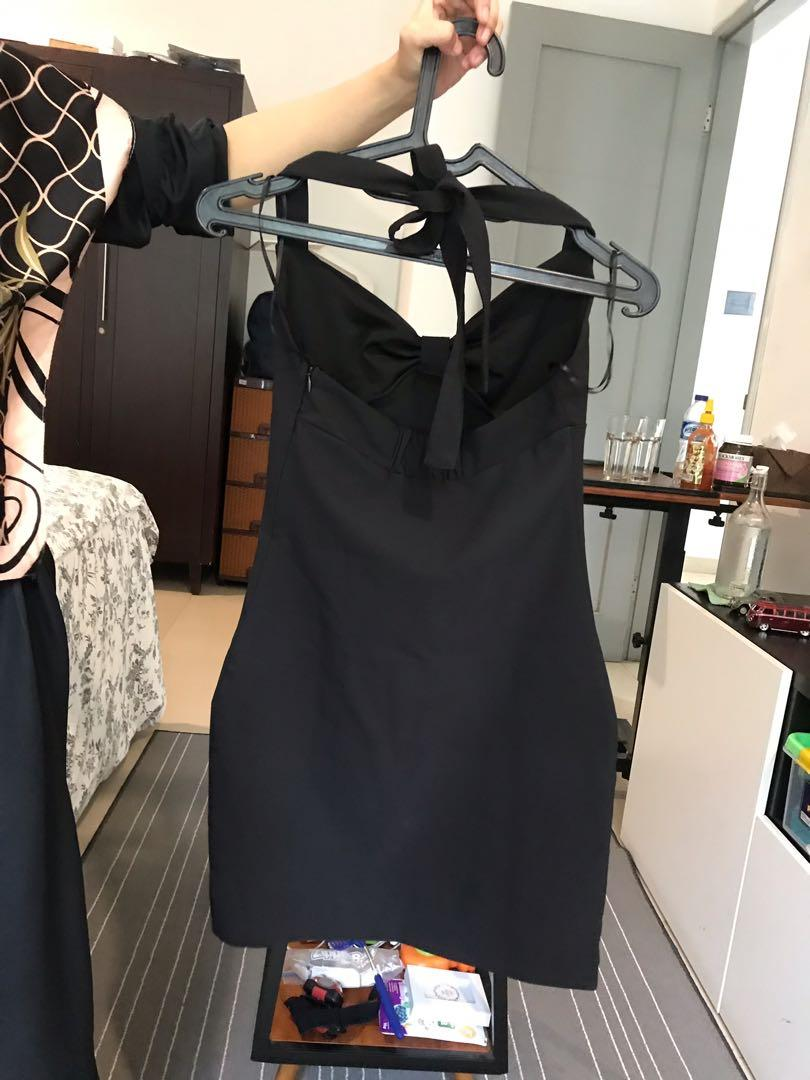 Dress hitam ZARA