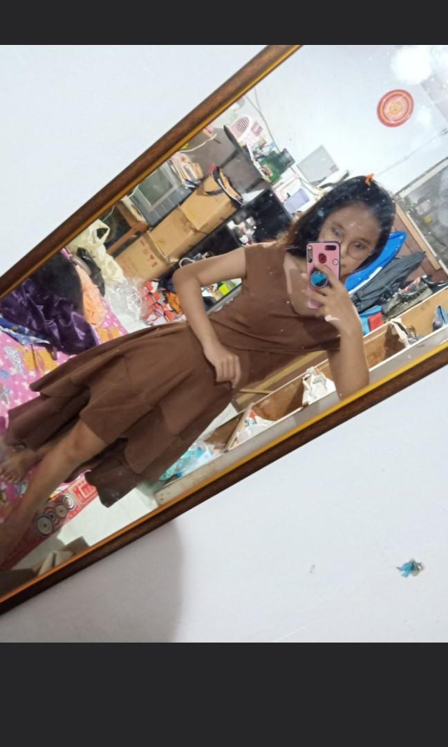 [REPRICE] Dress Pesta Model Sabrina