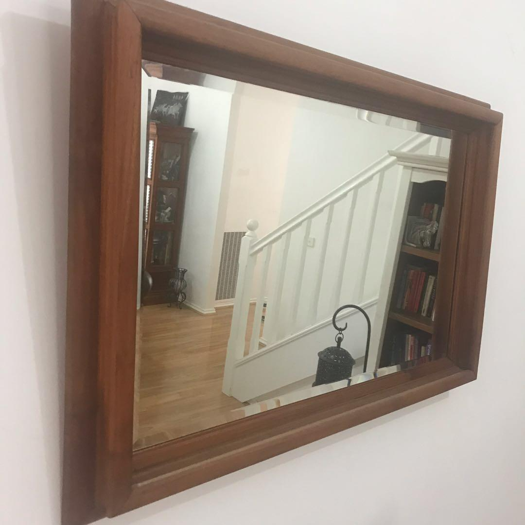 Early Settler Console & Matching Mirror