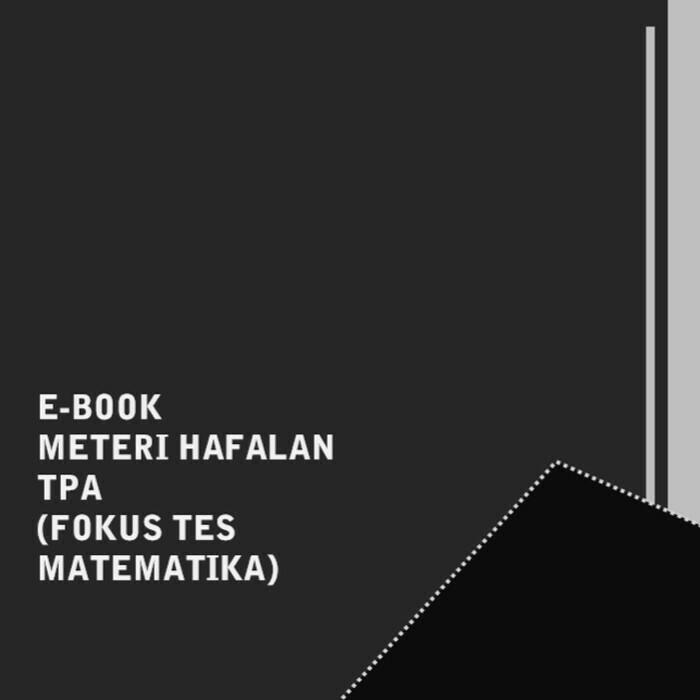 E-BOOK MATERI HAFALAN TPA