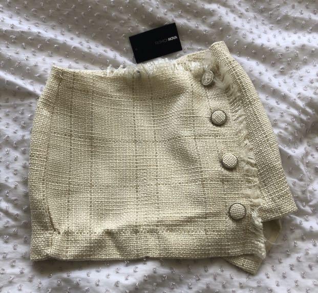 Fashion Nova Tweed Skirt