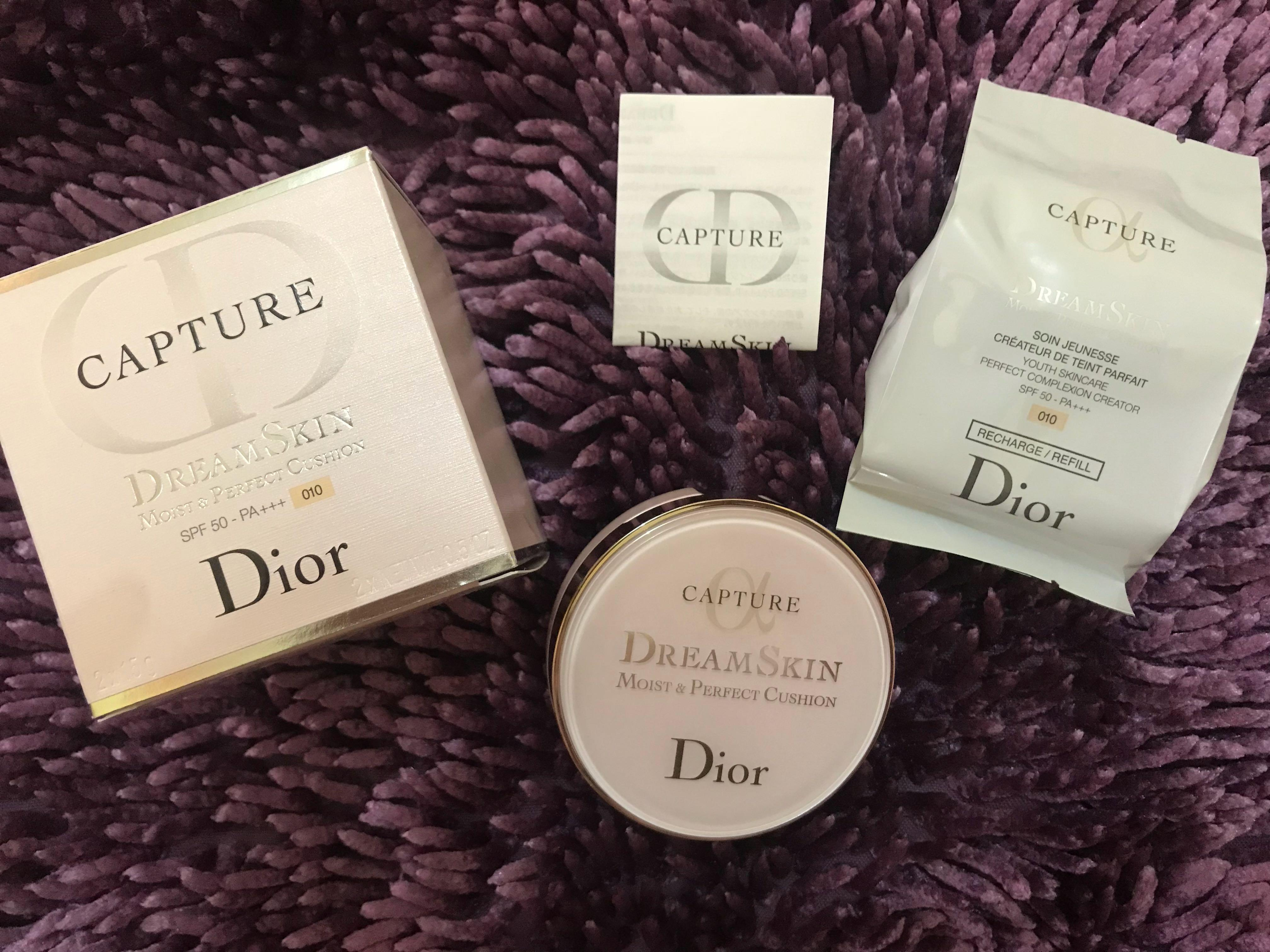 FAST SALE NETT Dior capture totale cushion free refill (used 1x) ❌ nego