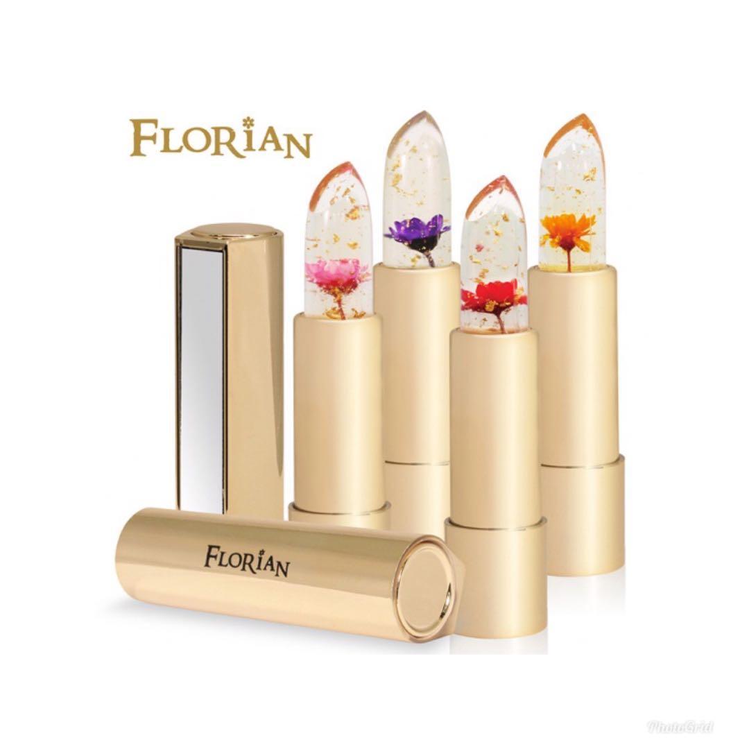 Florian  金箔花瓣果凍唇膏(3.8g)