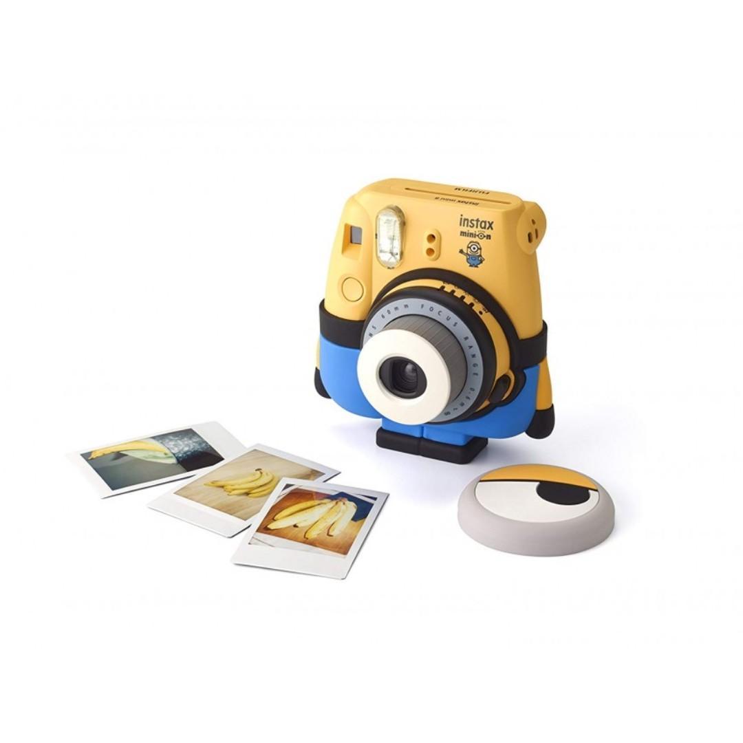 Fujifilm 富士 Instax Mini 8 Minions Instant Film Camera 迷你兵團相機