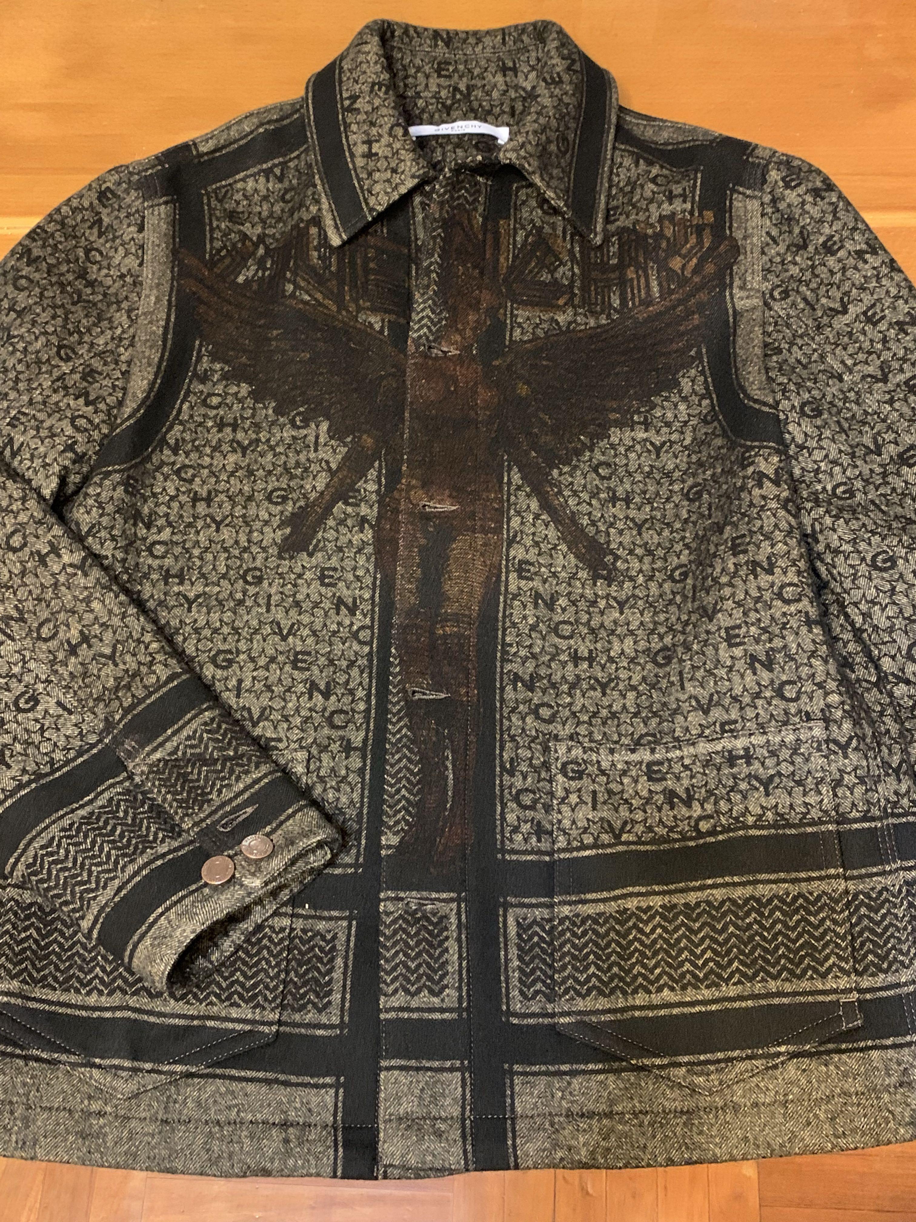 Givenchy pattern suit jacket