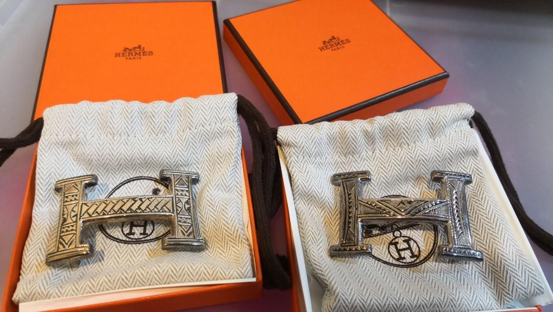 Hermes limited belt buckle