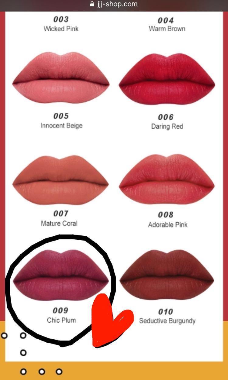 I'M MEME 我愛氣墊超霧唇 #09 chic plum 僅試色   Im Tic toc Tint-Lip Velvet.