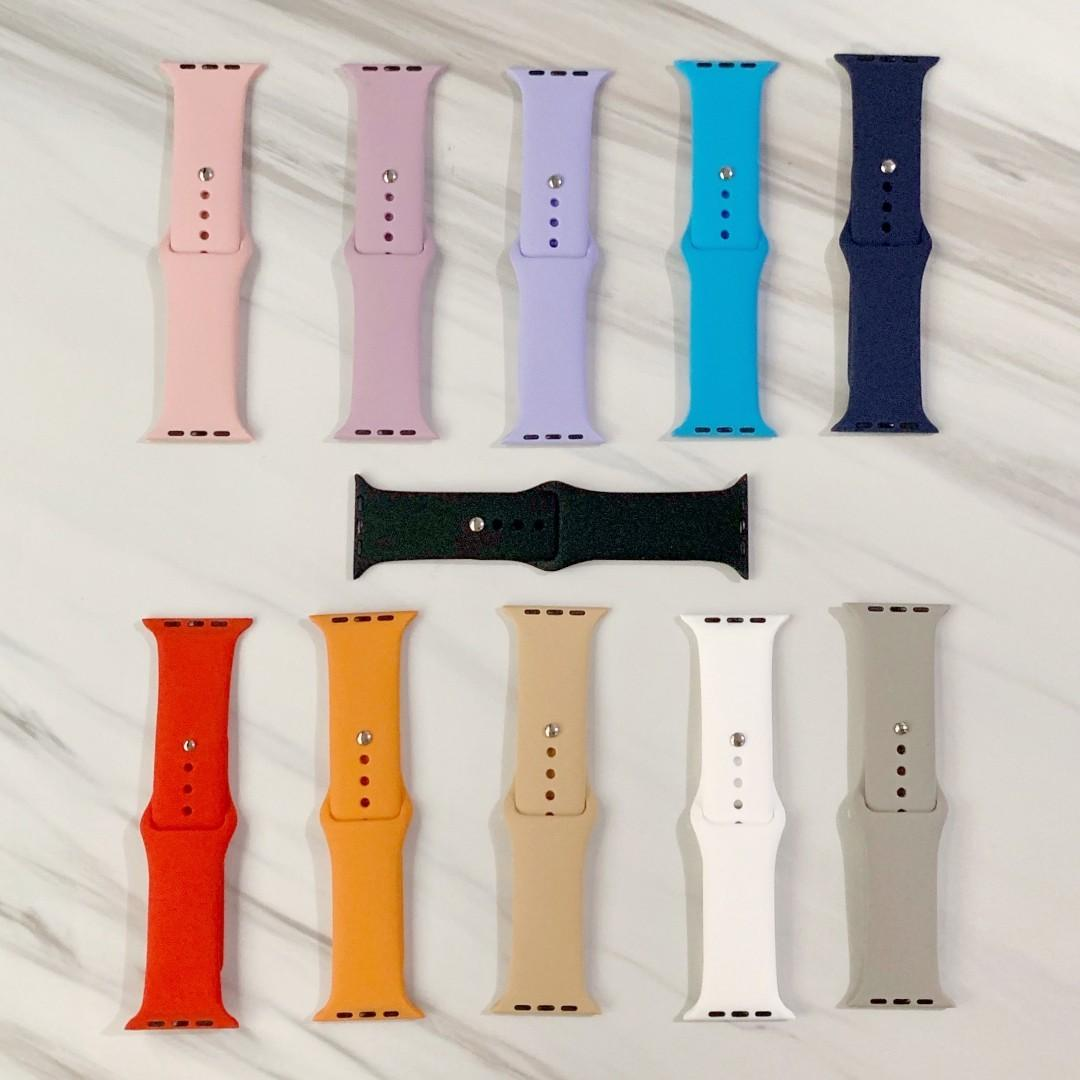 [LIMITED STOCK] Apple Watch Band Silicone vintage collection/camou for series 1-4, iwatch size 38mm/40mm/42mm/44mm