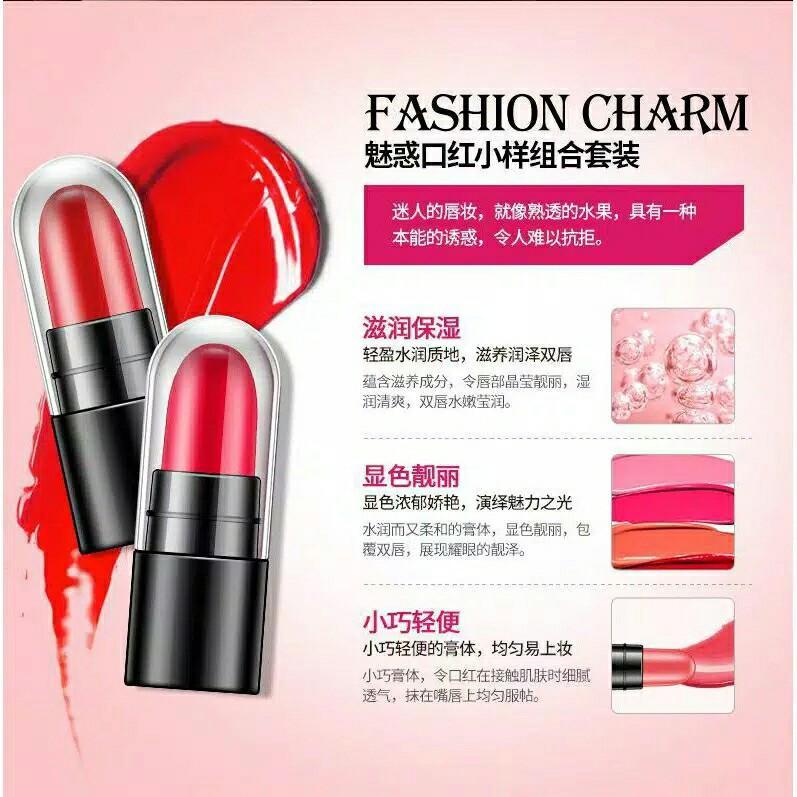 Lipstik Bioaqua isi 12