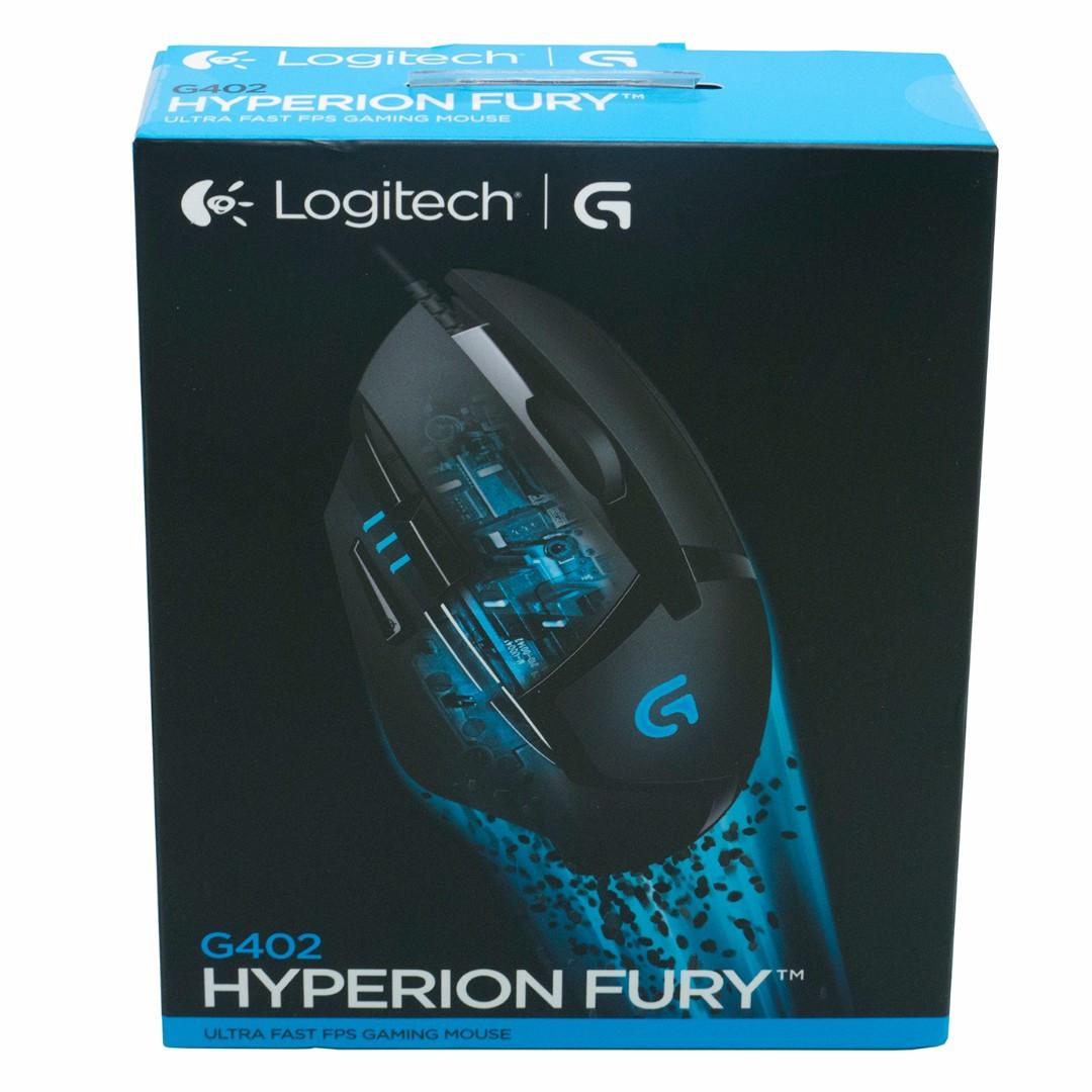 🌟SALE🖱Logitech G402 Hyperion Fury FPS Gaming Mouse