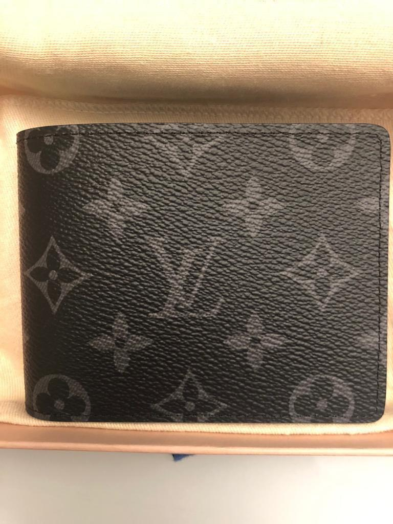 Louis Vuitton Wallet & card holder (eclipse)