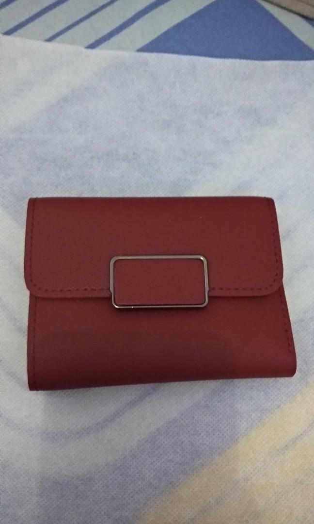 Maroon Wallet for Women