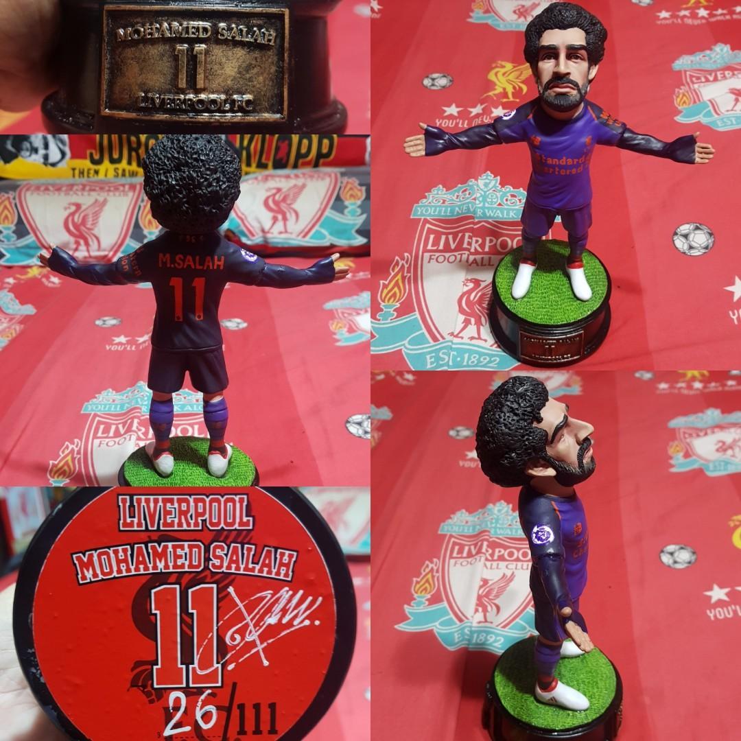 various colors 20af5 cf543 Mohamed Salah Statue (Liverpool) 2017/18 Away Kit, Sports ...