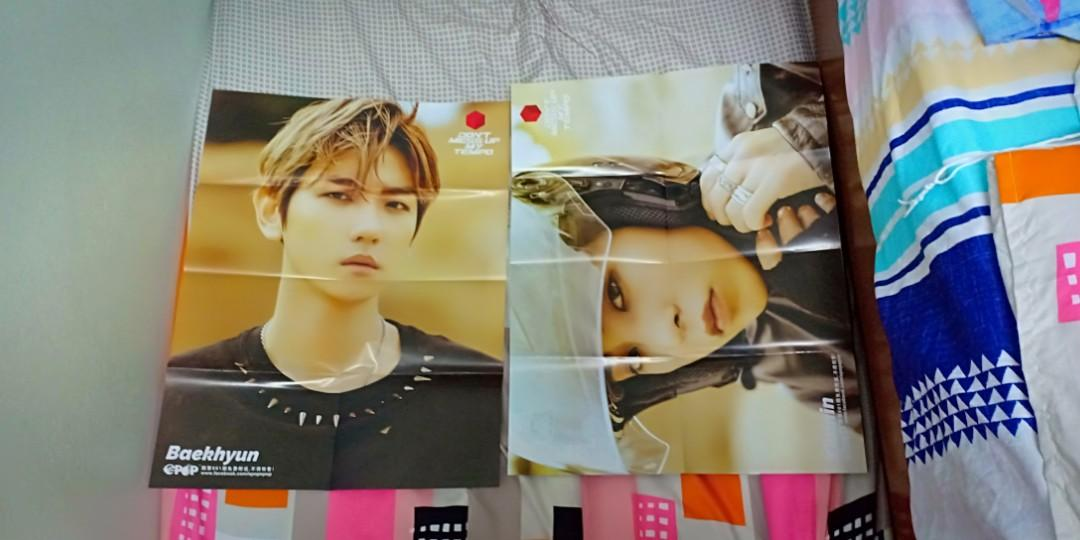 #1010 NCT 127 front and Don't Mess Up My Tempo back epop posters
