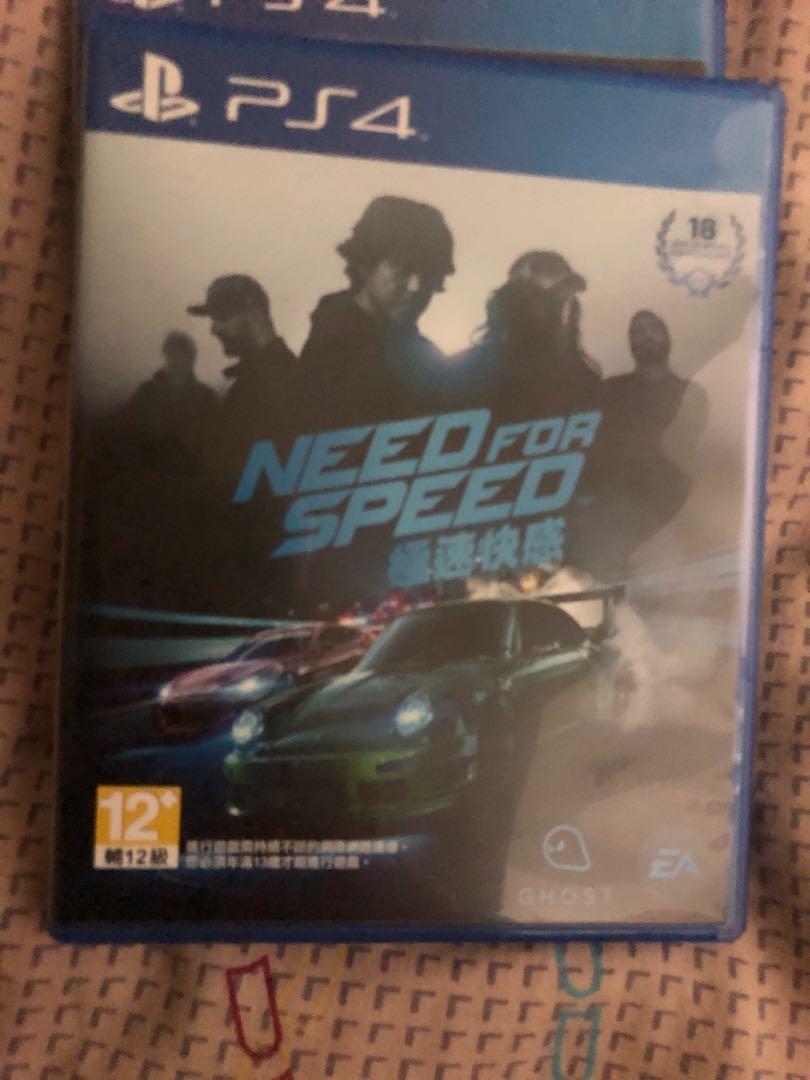 {二手}need of speed