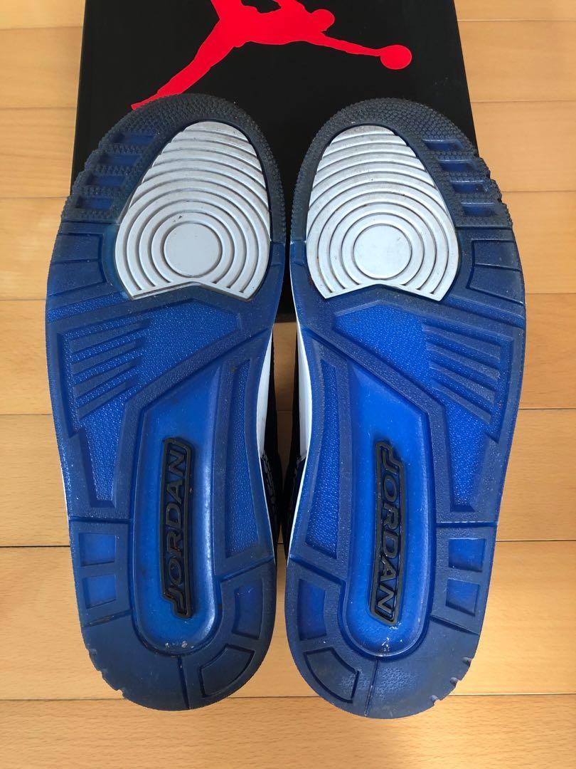 Nike Air Jordan 3 Retro sport blue US 9.5