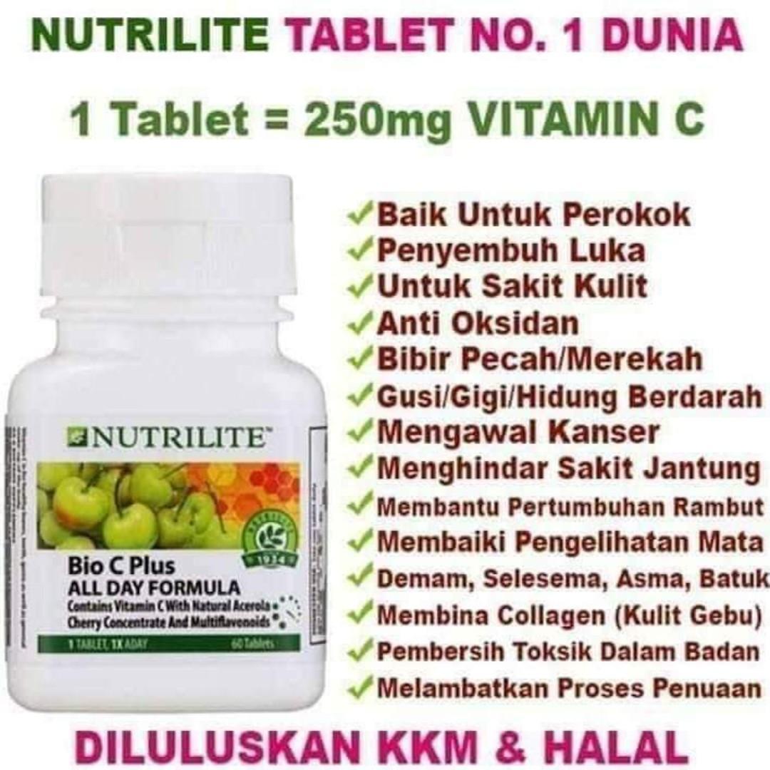 NUTRILITE BIO C PLUS All day formula(120Tab)