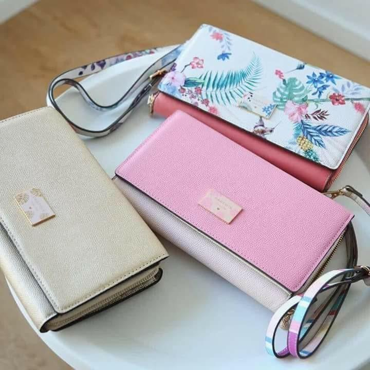 2f1997881 Parfois Clutch/Sling Bag PINK on Carousell