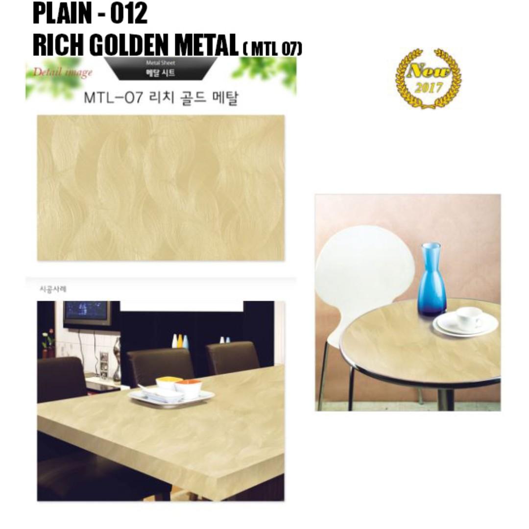 Plain Wall Design Wallpaper Sticker Furniture