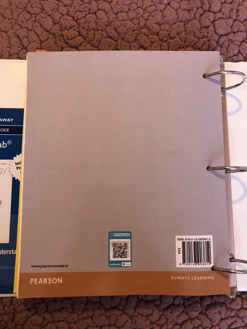Psychology Third Canadian Edition Loose Leaf Textbook