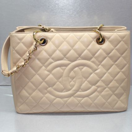 f118a94e4f4 SALES!! Chanel Beige Caviar GST (GHW) , Luxury, Bags & Wallets ...