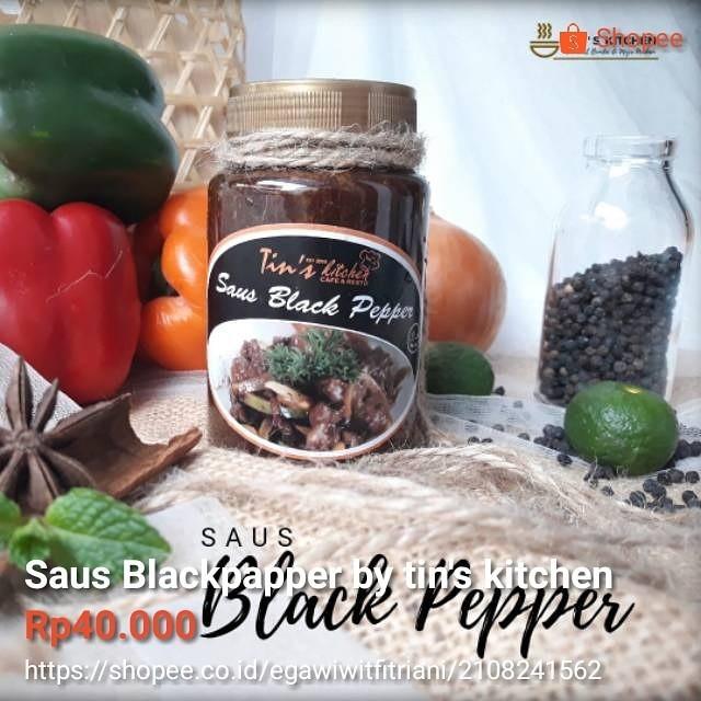 Saos Blackpapper homemade